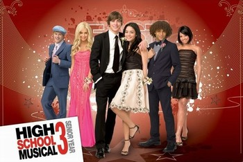 HIGH SCHOOL MUSICAL 3 - group Poster