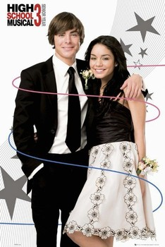Poster HIGH SCHOOL MUSICAL 3 - troy and gabriella