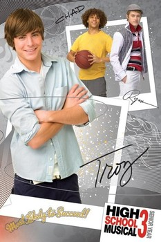 Poster HIGH SCHOOL MUSICAL 3 - troy