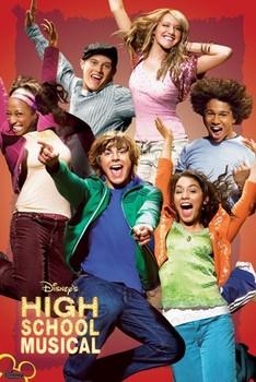HIGH SCHOOL MUSICAL - jump Poster
