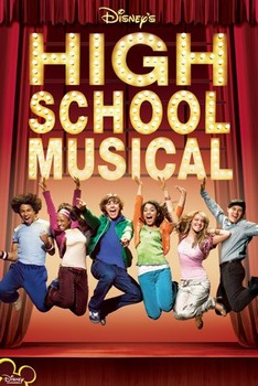 Poster HIGH SCHOOL MUSICAL - stage