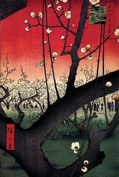 Poster Hiroshige Plum Park In Kameido