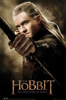 Poster HOBBIT - desolation of smaug Legolas