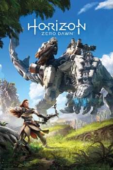 Horizon Zero Dawn - Key Art Poster