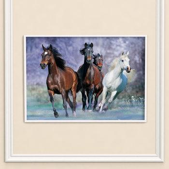 Poster Horses - Running, Bob Langrish