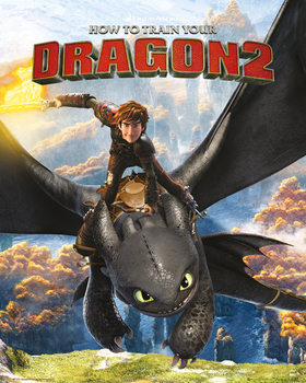 How to Train Your Dragon 2 - Rocks Poster, Art Print
