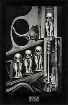 Hr Giger- birthmachine Poster, Art Print