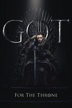 Hra o Trůny (Game of Thrones) - Jon For The Throne Framed Poster