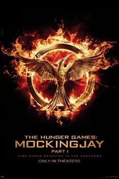 Pôster Hunger Games: Mockingjay Part 1 - Mockingjay
