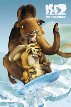 ICE AGE 2 - fossil Poster