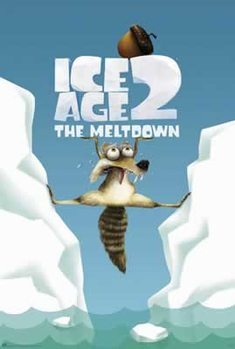 Ice Age 2: The Meltdown - Scrat Between Ice Poster