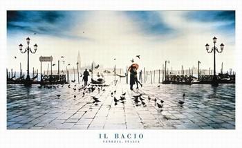 Il Bacio - venezia, italy Poster