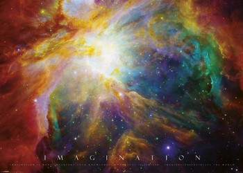 Pôster Imagination - nebula