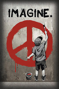 Imagine peace Poster