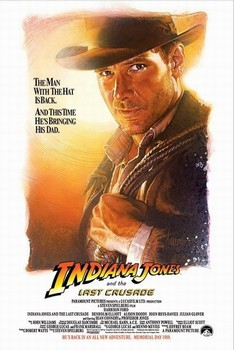 Poster INDIANA JONES - the last crusade one sheet