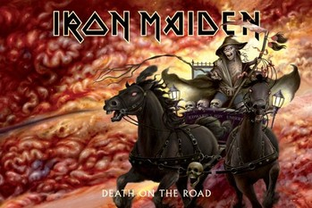 Iron Maiden - death on the road Poster