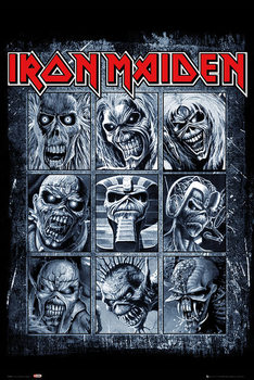 Poster Iron Maiden - Eddies
