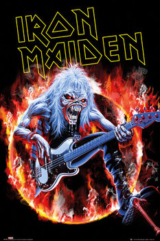 Iron Maiden - fear live Poster