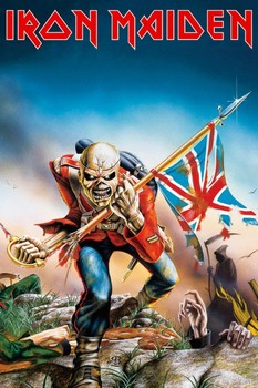 Pôster IRON MAIDEN - trooper