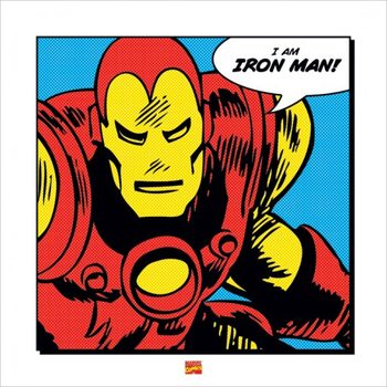 Iron Man - I Am Art Print