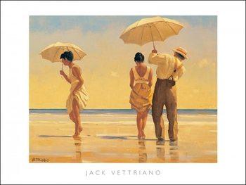 Jack Vettriano - Mad Dogs Art Print