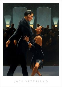 Jack Vettriano - Rumba In Black Art Print