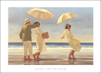 Jack Vettriano - The Picnic Party Art Print