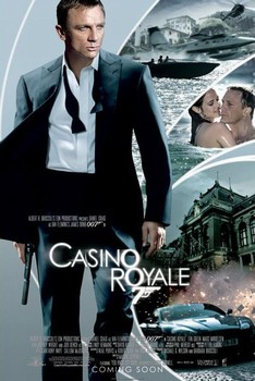 JAMES BOND 007 - casino royale iris one sheet Poster, Art Print