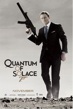 JAMES BOND 007 - quantum of solace  Poster, Art Print
