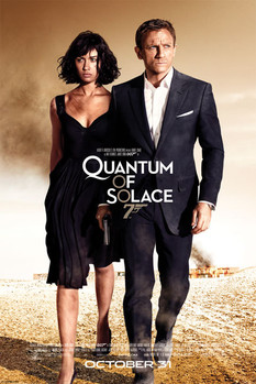 JAMES BOND 007 - quantum of solace one sheet Poster, Art Print