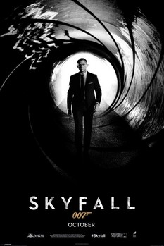 JAMES BOND 007 - skyfall Poster, Art Print