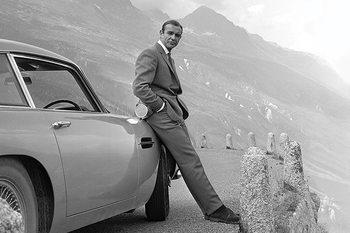 James Bond - Connery & Aston Martin Poster