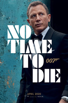 James Bond - No Time To Die - Azure Teaser Poster
