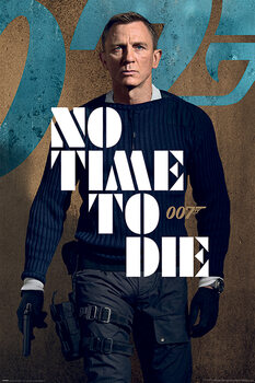 Poster James Bond: No Time To Die - James Stance