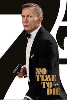 Poster James Bond No Time To Die - Tuxedo