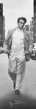 James Dean - walking Poster