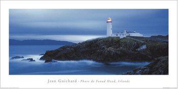 Jean Guichard - Phare De Fanad Head, Irlande Art Print