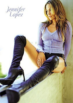 Jennifer Lopez - boots Poster