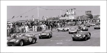 Jesse Alexander - Tourist Trophy, Goodwood, 1959 Art Print