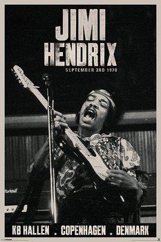 Pôster Jimi Hendrix - copenhagen