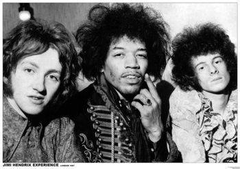 Pôster Jimi Hendrix - London 1967