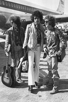 Jimi Hendrix - london b&w Poster