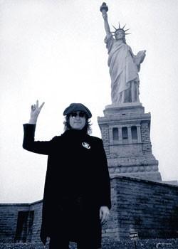 John Lennon - liberty Poster