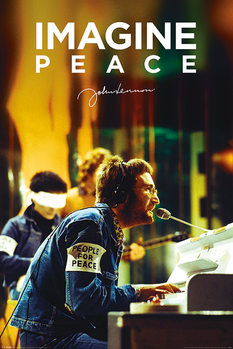 Poster John Lennon - People For Peace