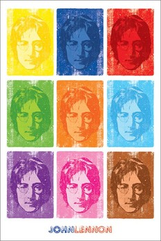 Pôster John Lennon - pop art