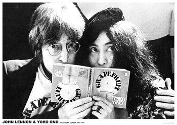 John Lennon & Yoko Ono - London Poster