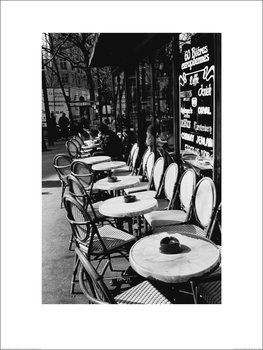 Joseph Squillante - Parisian Café Art Print
