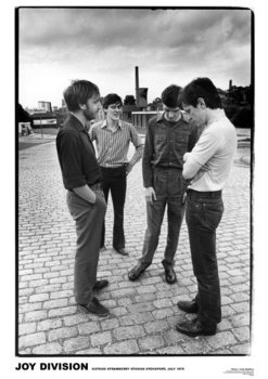 Poster Joy Division - Strawberry Studios