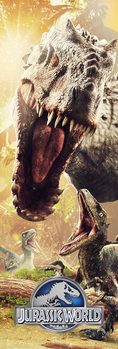 Jurassic World - Attack Poster, Art Print