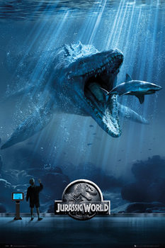 Jurassic World - Mosa-One-Sheet Poster, Art Print